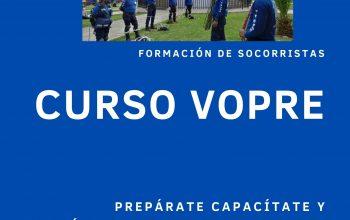 INSCRIPCIONES ABIERTAS CURSO VOPRE OCTUBRE 2021-II
